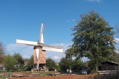 Windmühle in Ebergötzen: Regenerative Energiegewinnung
