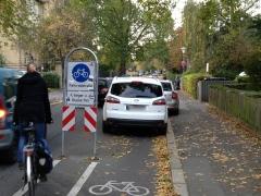 Fahrradfahrer haben es nicht leicht...