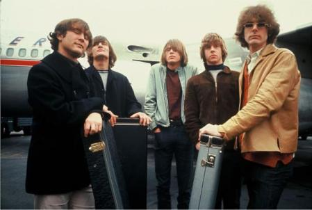 The Byrds in 1965 by Source. Licensed under Fair use via Wikipedia - http://en.wikipedia.org/wiki/File:The_Byrds_in_1965.jpg#/media/